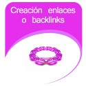 Creación de enlaces o backlinks